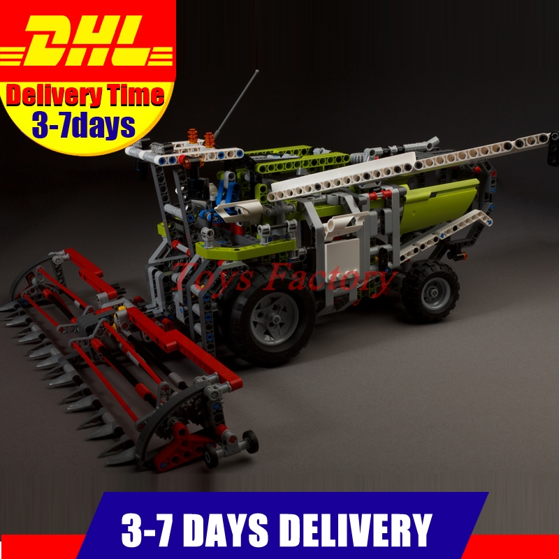 LEPIN 20041 1107Pcs Genuine Technic Series The Combine Harvester Set 8274 Educational Building Blocks Bricks Toys Model Gift конструктор lego technic combine harvester 8274