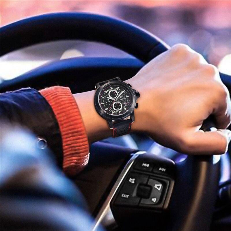 orologio uomo 2018 PAGANI DESIGN Fashion Luxury Brand Sports Men Quartz Watch Unique Luminous Dial Waterproof Men Watch plus BOX in Quartz Watches from Watches