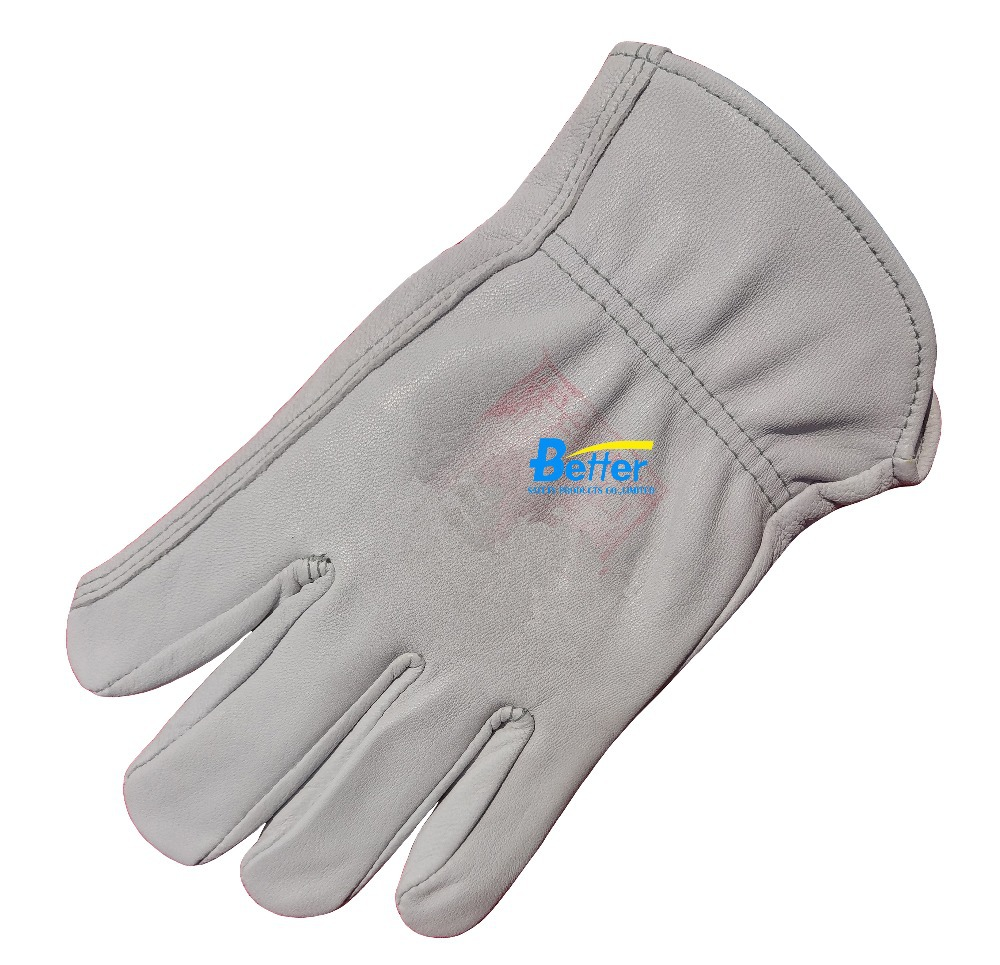 Work Gloves Leather Driver Gloves Deluxe Grain Goat Leather TIG MIG Welding Gloves Leather Work Gloves mig mag burner gas burner gas linternas wp 17 sr 17 tig welding torch complete 17feet 5meter soldering iron air cooled 150amp