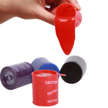 1 Pcs Random Color New Barrel Slime Fun Shocker Joke Gag Prank Gift Crazy Trick Party Supply Paint Bucket Novelty Funny Toys