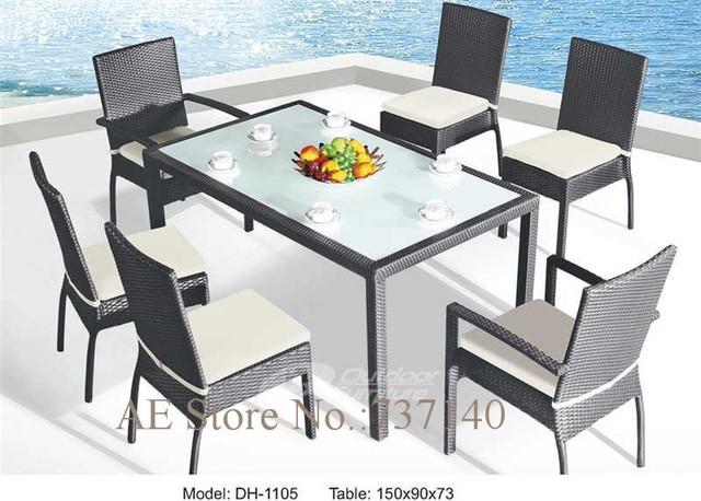 Us 272 0 Garten Set Esszimmer Rattan Tisch Wicker Tabelle Set Mobel Einkaufer Grosshandelspreis Qualitatskontrolle In Garten Set Esszimmer Rattan