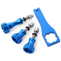 GoPro Accessories Aluminum Thumb Knob Bolt Nut Screw Go Pro Wrench Spanner For GoPro Camera Hero3