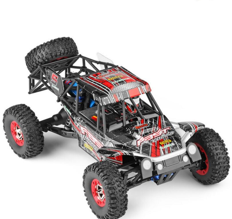 Climbing off-road vehicle Remote Control Car 12428-C 2.4G 4WD 50KM/H drift electric bat RC Racing Car High Speed Toy Car Model mst 532141 cmx 1 10 4wd fj40 kit off road car climbing simulation model car