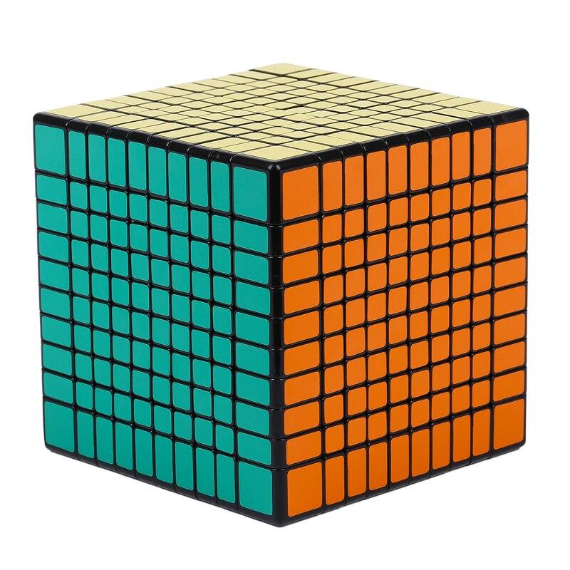 Nouveau ShengShou 10x10x10 10.2 CM Cube vitesse Cube 5 pièces costume professionnel Cubo Magico Puzzle Cube jouets pour enfants adulte cadeau - 5