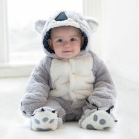 Baby Rompers Winter Baby Boy Girls Clothes Cotton Newborns Winter Overalls Jumpsuit bebe Snowsuit Toddler Animal Koala Costume