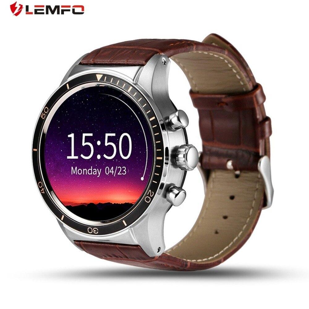 LEMFO Y3 Android 5.1 Montre Smart Watch Avec SIM Slot Waterproof Bluetooth GPS Smartwatch Homme/Femme Montre-Bracelet Pour Xiaomi Huawei Téléphone