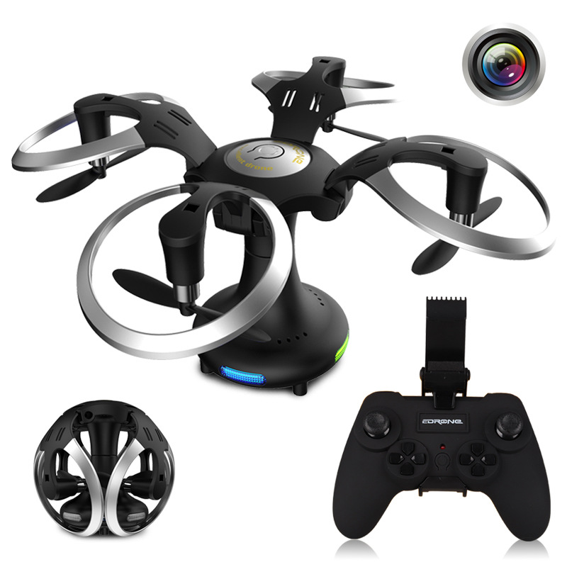 Mini Selfie Drones With Camera Hd Follow Me Foldable Drone Tracker New Rc Videos Charger Helicopter Wifi Frame toys