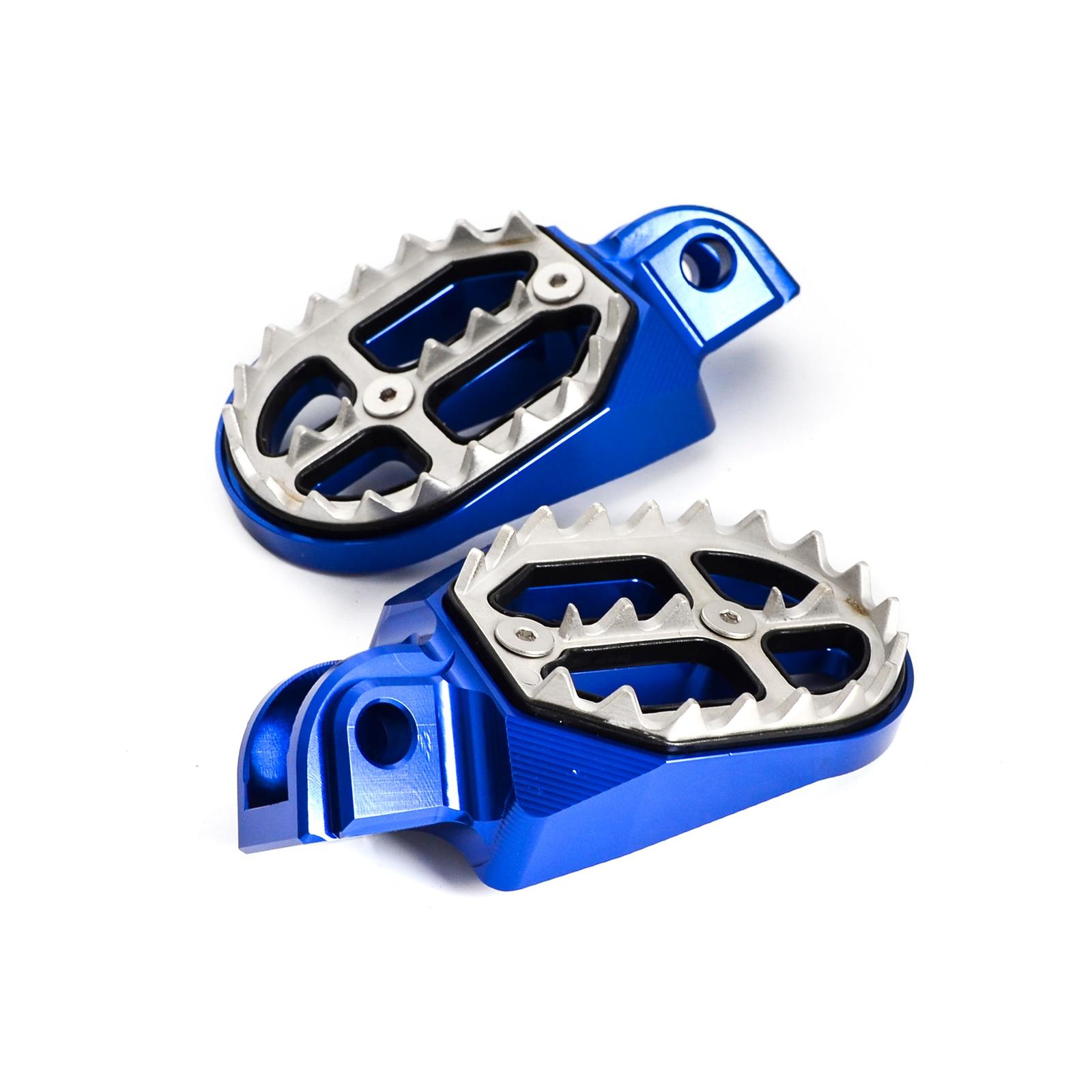 MX Foot Pegs Rests Footrests Footpegs Pedals For Husqvarna TC TE FE FC FX FS 125 250 300 350 390 450 501 510 570 610 2003-2013