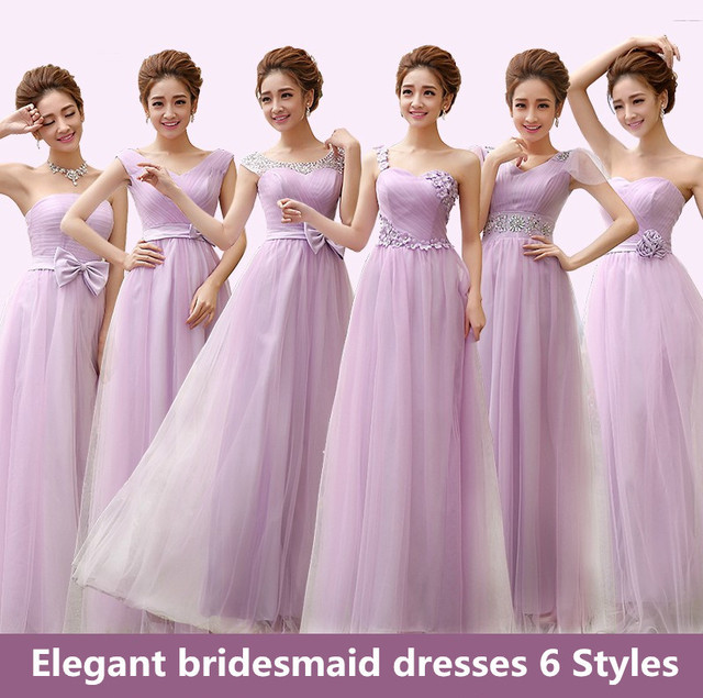 Buy light purple bridesmaid dresses to for Light purple wedding dress