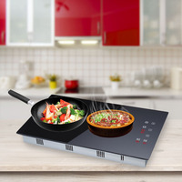 Dual Head Cooker 1200W 1800W Double Head Hot Plate Electric Induction Cooker/Cooktop/Stove/Cookware/Hob/Ceramic Free Shipping