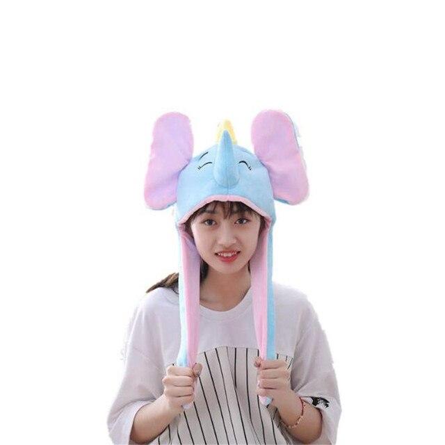 Плюшевая шапка Слон