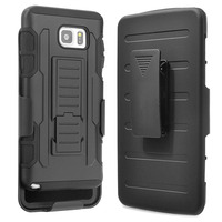 Note 5 Case Hot Products Hard Plastic Belt Clip Mobile Stand Armor Cover Case For Samsung