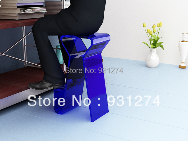 ONE LUX  Acrylic bar stool for home Lucite bar chair high chair Club bar furniture one lux acrylic bar stool for home lucite bar chair high chair club bar furniture