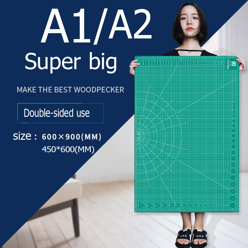 Cutting Mats A1&A2 Grid Double-sided Plate Design Engraving Model Mediated Knife Scale Cut Cardboard School Office Suppli