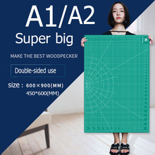 Cutting Mats A1&A2 Grid Double sided Plate Design Engraving Model Mediated Knife Scale Cut Cardboard School Office Suppli