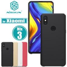 Xiaomi mi x 3 Чехол mi x3 чехол Nillkin матовый Матовая Жесткий ПК Пластик смартфон назад футляры для Xiaomi mi x 3 Капа Nilkin Shell