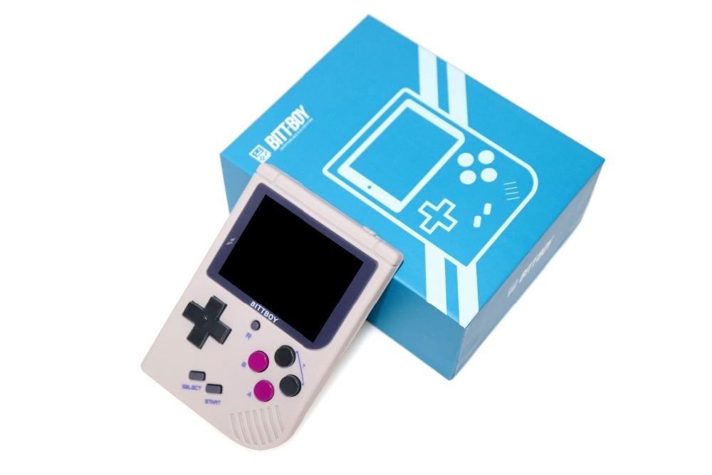 Nuevo BittBoy V3.5 consola de videojuegos Retro 8