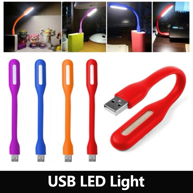 1PCS Mini LED USB read Light Table Lamp Flexible Ultra Bright for Notebook PC Power Bank Partner Computer Tablet Laptop 22000mah power bank w dual usb led flashlight for tablet pc pink