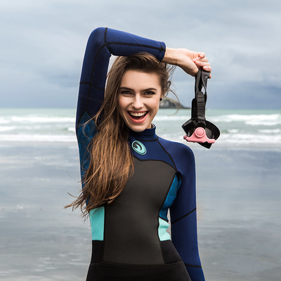 1.5mm Neoprene Long Women Scuba Diving Suits One Pieces Snorkeling  Equipment Wetsuits Surfing Rash Guards Bodysuits-in Rash Guard from Sports  ... 50960deac