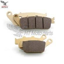 Мотоциклетные передние и задние тормозные колодки для Honda CB500F CB500X CBR500R сертификатом от сертификационной 500F 500X 500R 2013