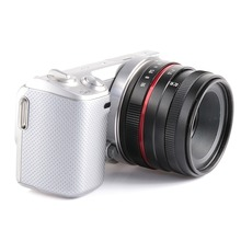 35mm f/1.6 manual Fixed Focus Lens APS-C F1.6 DSLR camera lens