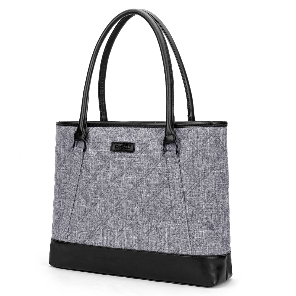 c759f380b7a3 US $30.0 50% OFF|CoolBELL Fashion Women Tote Bag 15.6 Inch Laptop Handbag  Nylon Briefcase Classic Laptop Bag Shoulder Bag Top Handle Bag-in Laptop ...