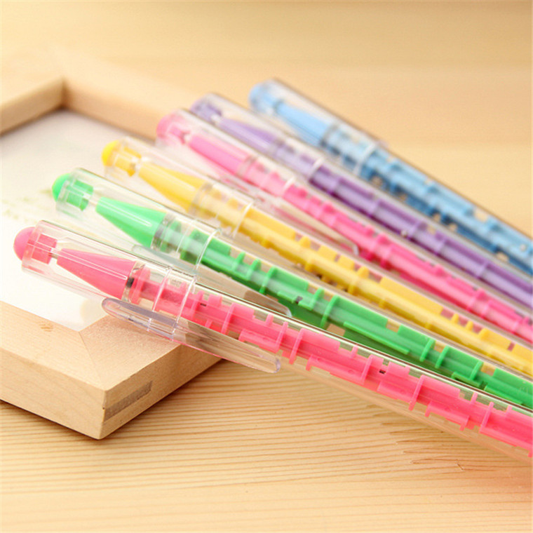 QSHOIC 10pcs/lot maze ball point pen creative pen new arrival stationery multifunction pen creative stationery labyrinth pen