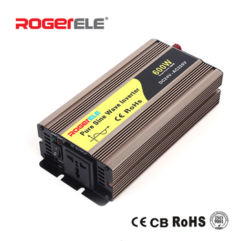 600W 12VDC/24VDC to 110VAC/220VAC 50/60Hz Pure Sine Wave Inverter For Home Application With Solar System 1