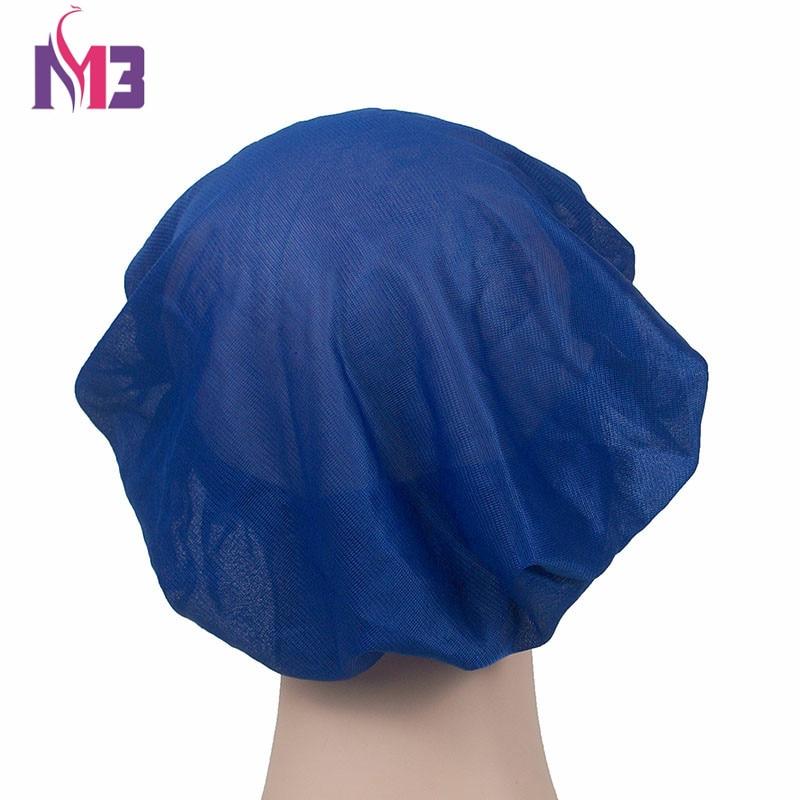 Fashion Women Silk Bonnet Donna Sleep Cap Wide Band Knitted Bonnet Cap Soft Turban Beanie Hat Breathable Sleeping Cap in Women 39 s Hair Accessories from Apparel Accessories