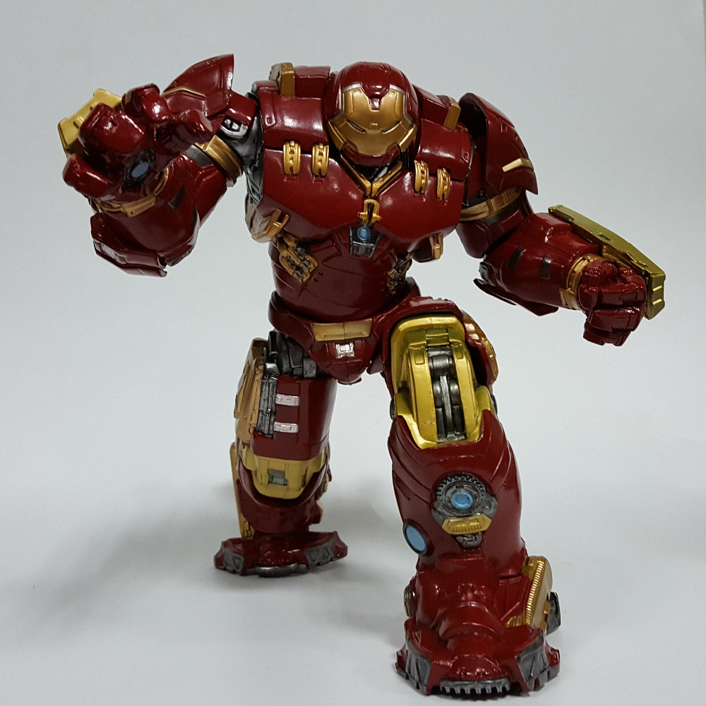Hulk Action Figure Hulkbuster Avengers 12inch PVC Anime Movie Avengers Hulkbuster Collectible Model Toy Superhero