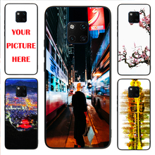 Mate20 Pro case Custom Personalized Make your Photo pattern images Hard Body Soft Side Phone Case Cover