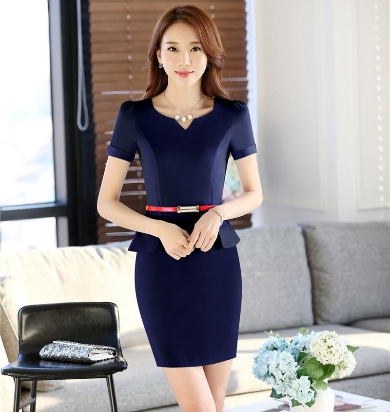 Aliexpress.com : Buy Summer Fashion Women Work Dresses for ...