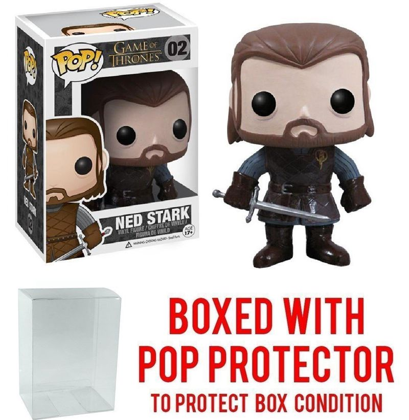 Funko pop Official TV: Game of Thrones: GOT - Ned Stark #02 Vinyl Action Figure Collecti ...