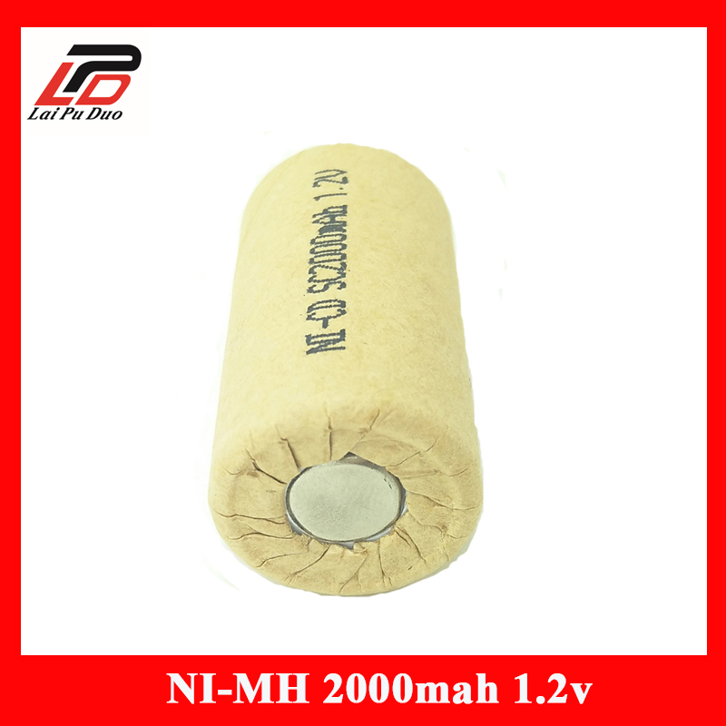 Cellule de batterie Rechargeable batteries NI-CD 1.2 V 2000 Mah SC Accumulateur taux De Décharge 10A-15A