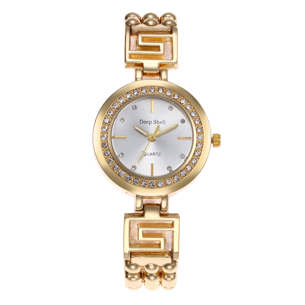 Famous Brand Luxury Gold Quartz Watch Women Stainless Steel Dress Watches Crystal Decor Casual Wristwatch Relogio Feminino xinew gold watch top brand luxury famous golden calendar women quartz watches relogio feminino crystal clock hot christmas gift
