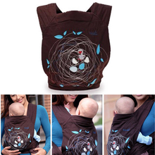 Fashion Baby Carries Cotton Breathable Infant Slings 3 In 1 Flower Dandelion Pattern Design Newborn Front Sling Wrap Backpacks