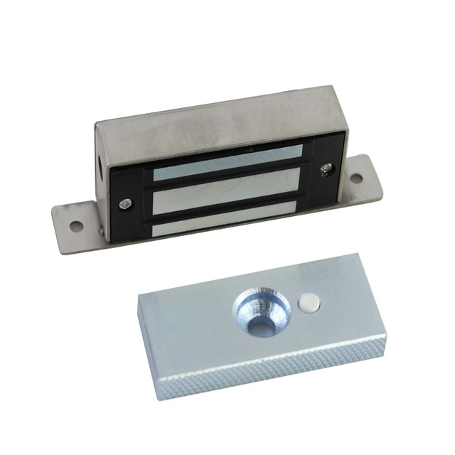 100lbs 60kg 12v Embedded Magnetic Lock Electromagnetic Cabinet Door Access Control