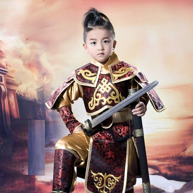 Super Deluxe Military Prince General Child Costume Velvet RARE