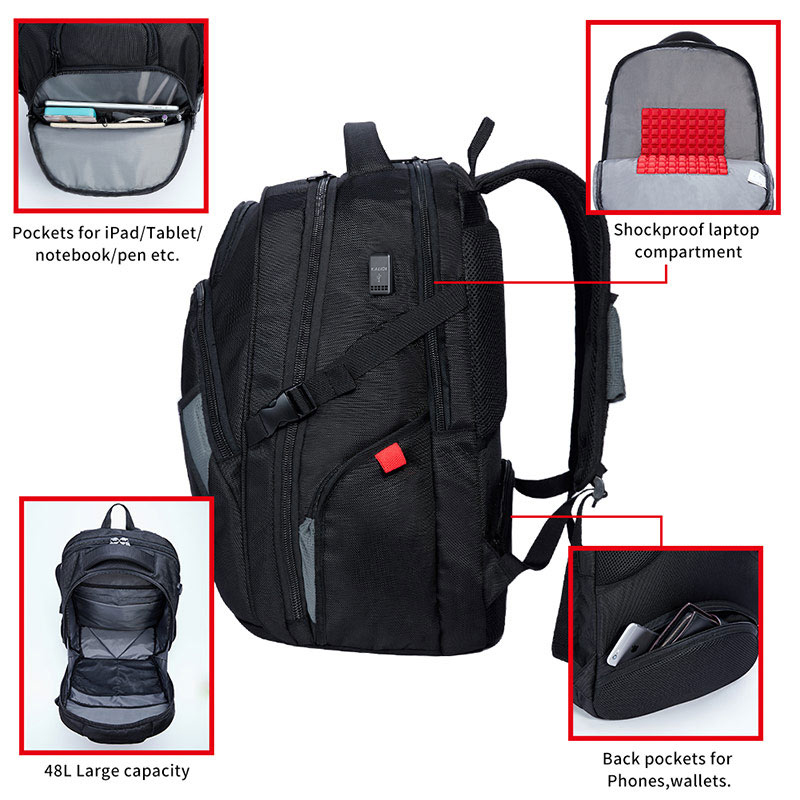 Laptop Accessories Symbol Of The Brand High-capacity Laptop Bag Shoulders Backpack Usb Charge Canvas Outdoor Basketball Sport Waterproof Notebook Travel Bag Backpack To Enjoy High Reputation In The International Market
