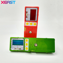 XEAST Outdoor mode laser level available red and green beam cross line laser receiver detector with Clamp