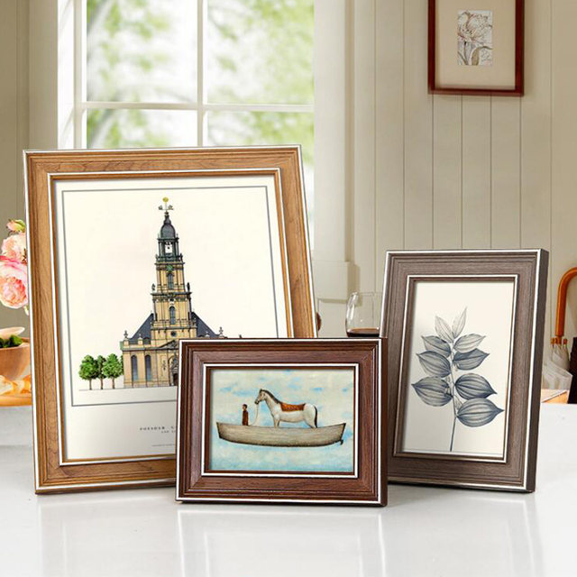 Online Shop 2018 New Classical Rectangle Photo Frame Picture Frames