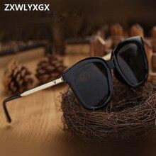 Новые модные новые женские солнцезащитные очки, брендовые дизайнерские, высокое качество, большая оправа, популярные винтажные женские сол...