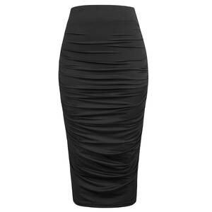 28310cf1 Belle Poque 2018 High Waist Skirts Womens Black