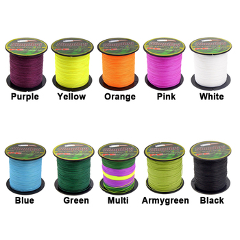 Amazing No.1 Simpleyi Lure Multifilament Braided Fishing Line Fishing Lines cb5feb1b7314637725a2e7: Army Green|Black|Green|Multi|Orange|Pink|Purple|Sky blue|White|Yellow