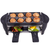 smokeless grill hotplate oil pan heater grill indoor electric barbecue grill hot dog restaurant equipment free shippping