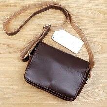 LAN бесплатная доставка для отдыха мужская кожаная сумка проблемных сумка ручной работы из кожи, сумка маленький натуральная кожа сумка