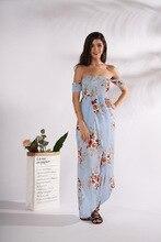 Модный ретро-воротник с короткими рукавами и без рукавов Холтер с нелегальным принтом Голубое платье