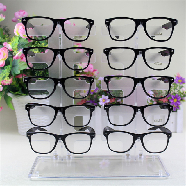 003e82ebb Optical shop home storage Plastic 10 Pairs Glasses Storage Rack Eyeglasses  Sunglasses Display Rack Stand Holder Glasses Show