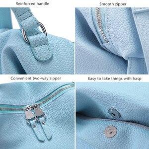 Image 3 - Vento Marea Crossbody Bags For Women 2018 Pu Leather Black Designer Purses &Handbags Korean Style White Hobo Shoulder Messenger