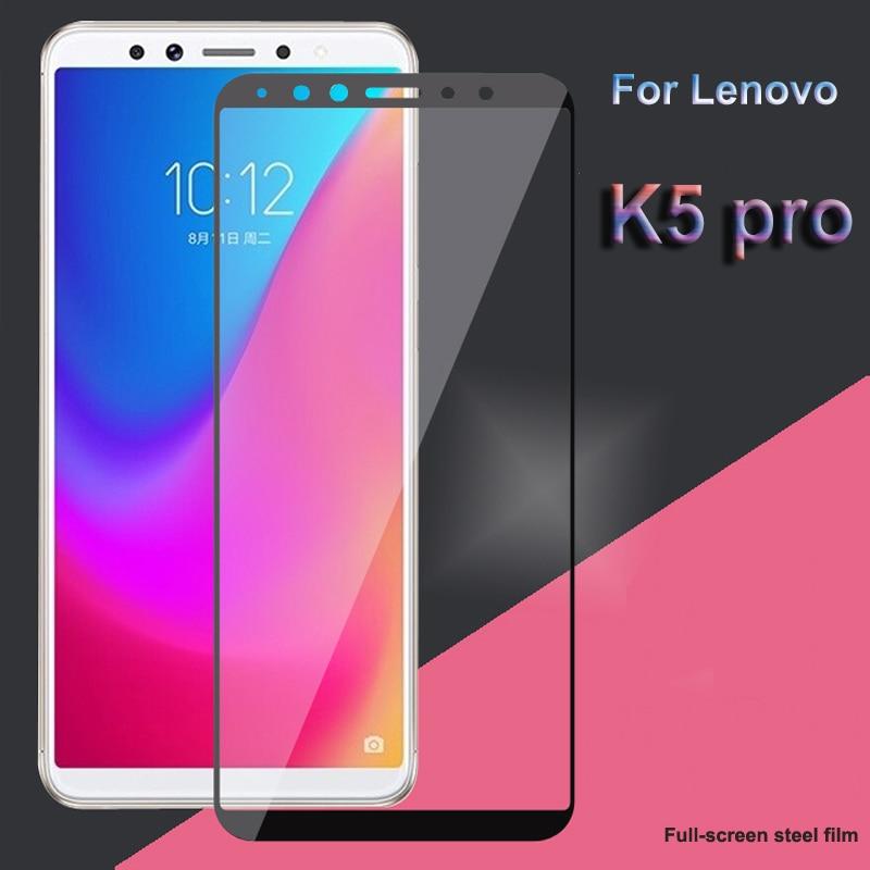 For Lenovo K5 Pro L38041 Tempered Glass For Global Version Lenovo K5 Pro Screen Protector Full Cover Glass Film Lenovo K5 Pro